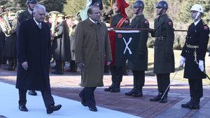 Pakistan Başbakanı Şerif, Ankara'da