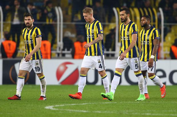Fenerbahçe 2017'de dibe vurdu