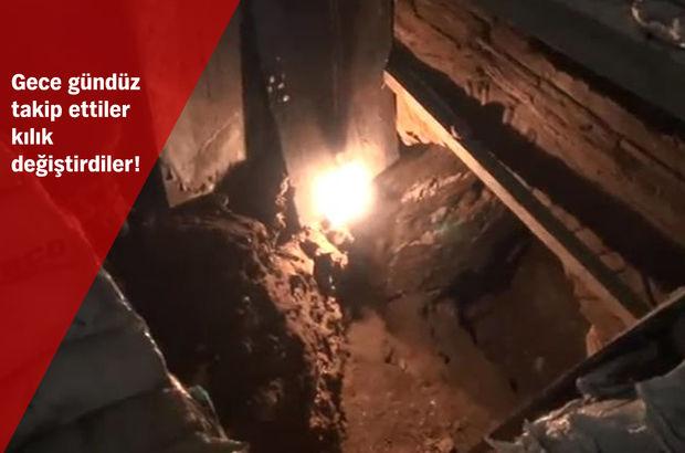 Sultanahmet Camii'nin altına tünel kazan define avcısı yakalandı