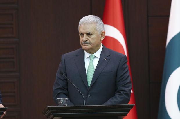 Başbakan Yıldırım Akar ve Fidan'ı kabul etti