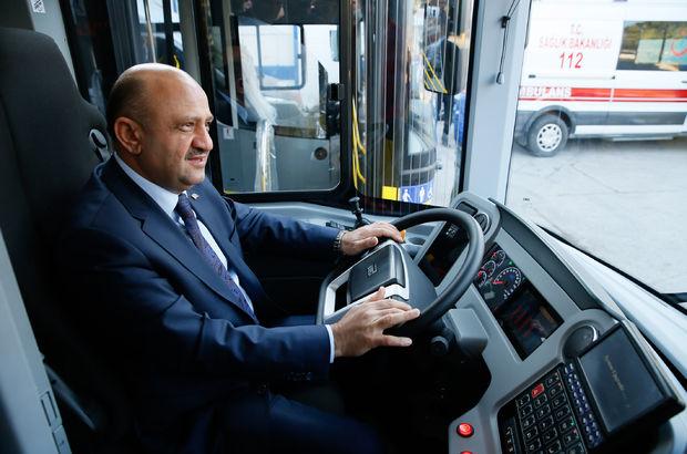 Milli Savunma Bakanı Fikri Işık'tan BMC'ye ziyaret