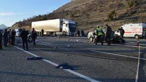Adıyaman'da korkunç kaza: 4 ölü, 2 yaralı