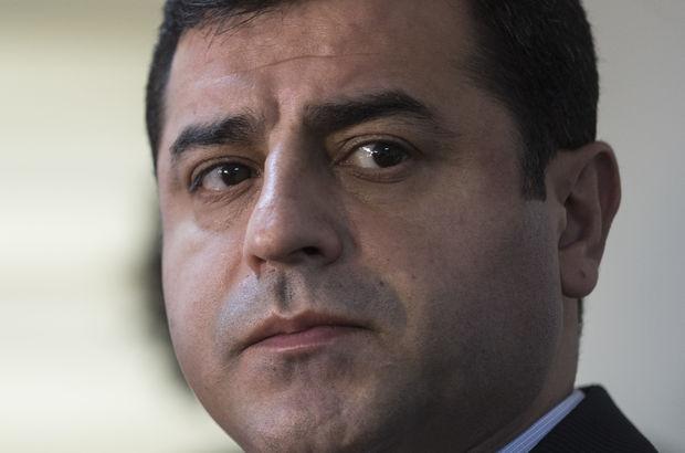 Demirtaş'ın Davutoğlu'na hakaretten yargılanmasına başlandı