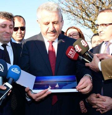 Ulaştırma, Denizcilik ve Haberleşme Bakanı Ahmet Arslan, Çanakkale