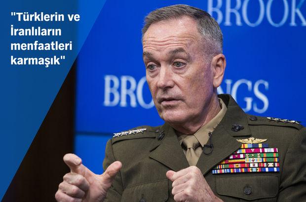 ABD Genelkurmay Başkanı Dunford'dan Türkiye açıklaması