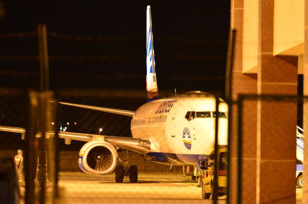 Almanya'dan gelen uçak Çanakkale'ye acil iniş!