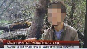 Samsun'da üniversite öğrencisine PKK üyeliğinden hapis