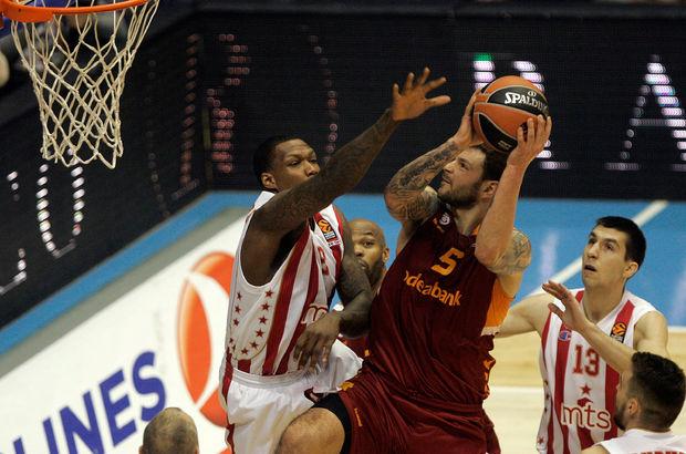 Kızılyıldız MTS: 77 - Galatasaray Odeabank: 58