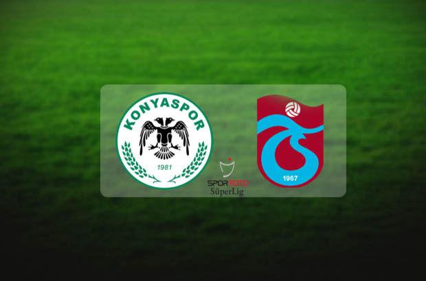 Konyaspor - Trabzonspor maçı hangi kanalda başlayacak? Maç saat kaçta?