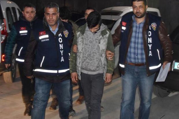 Konya'da Suriyeli iki genç tartıştıkları 2 kişiyi bıçakladı