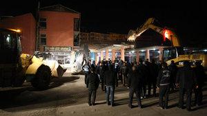 Malatya'da yıkım gerginliği