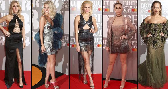 2017 Brit Ödülleri...