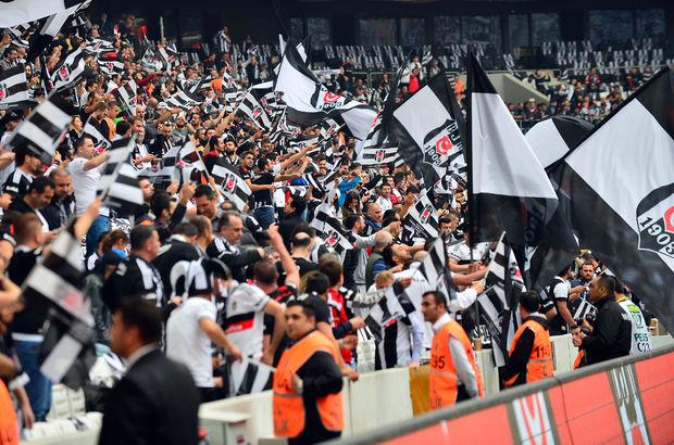Vodafone Arena'da Everton Luiz'e destek
