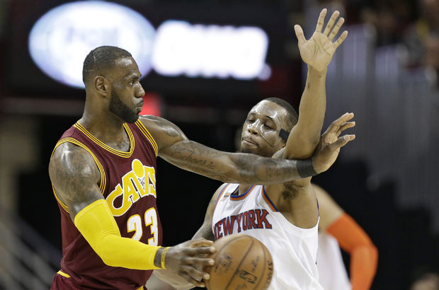 NBA'de LeBron James'in gecesi