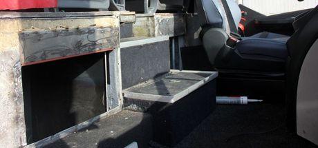 Adana'da bir otobüste 108 kilo eroin ele geçirildi