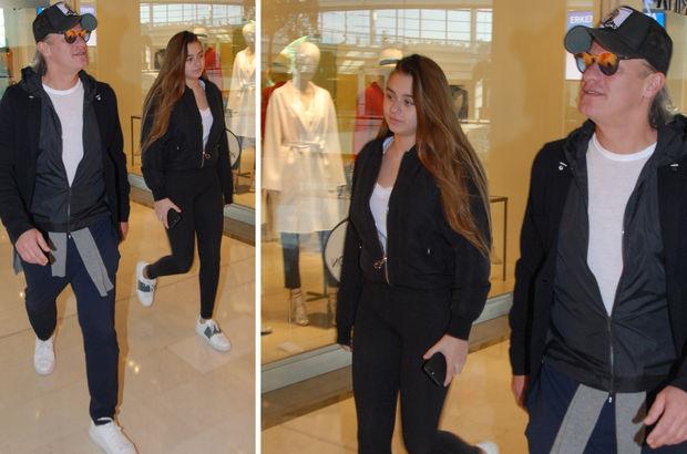 Tugay Kerimoğlu ve kızı Melisa, giyim tarzlarıyla dikkat çekti
