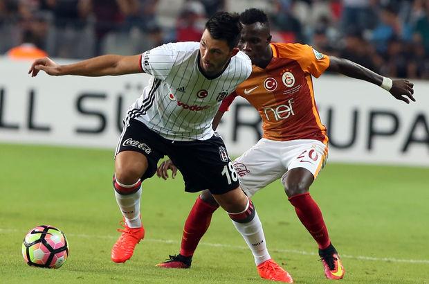 Galatasaray - Beşiktaş derbisinde gollerin dağılımı