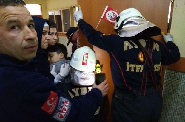 Aydın'da kapı kolu bir öğrencinin koluna saplandı