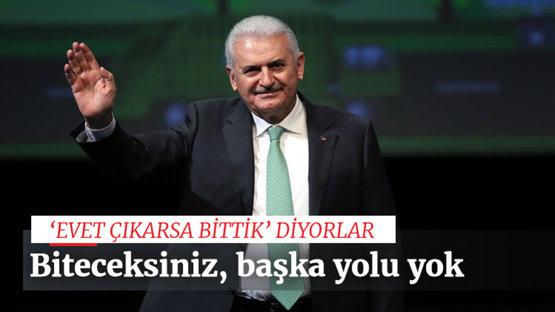 'Tek mücadele eden Türkiye'