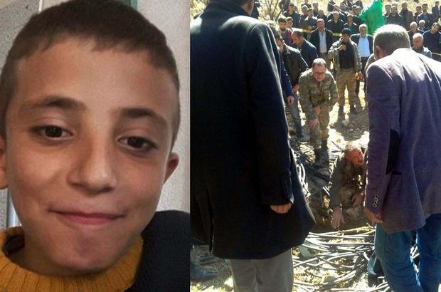 Mardin'de 4 gün önce kaybolan Bilal'in cesedi kuyuda bulundu