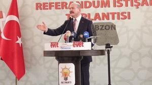 Süleyman Soylu, CHP'li vekillere yüklendi: Kandil'e sorun, Karayılan'a sorun