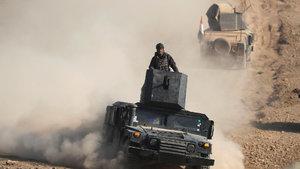 Irak ordusu Musul'un batısında ilk mahalleye girdi