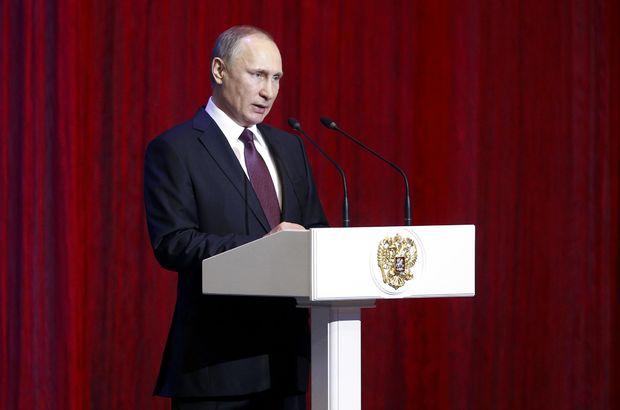 Putin: Militanları silah zoruyla getirdik