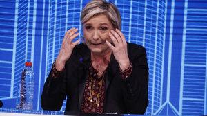 Le Pen polise gitmedi, ifade vermeyi reddetti!