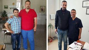 10 ayda 172 kilodan 97 kiloya düştü!