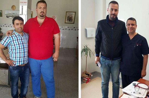 10 ayda 172 kilodan 97 kiloya düştü
