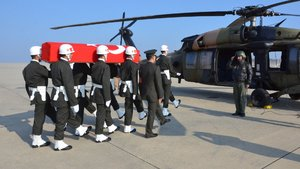 El Bab'da 2 asker şehit oldu, 3 asker yaralandı
