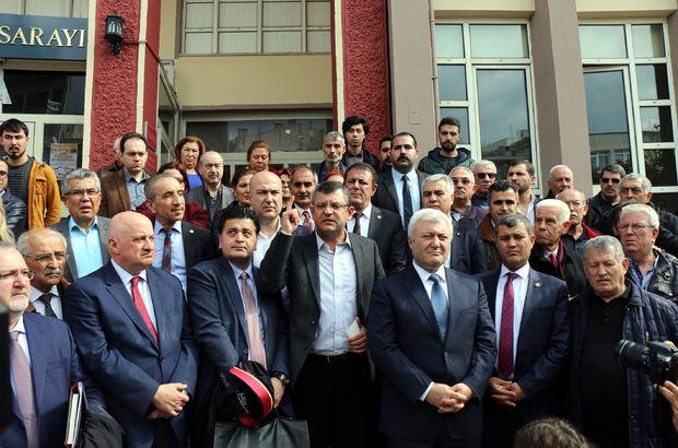 CHP'li Bülent Tezcan'a saldırının ilk duruşması yapıldı