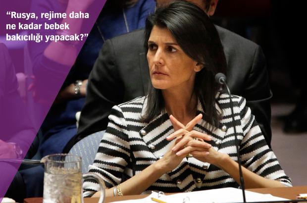 ABD'den Rusya'ya Suriye eleştirisi