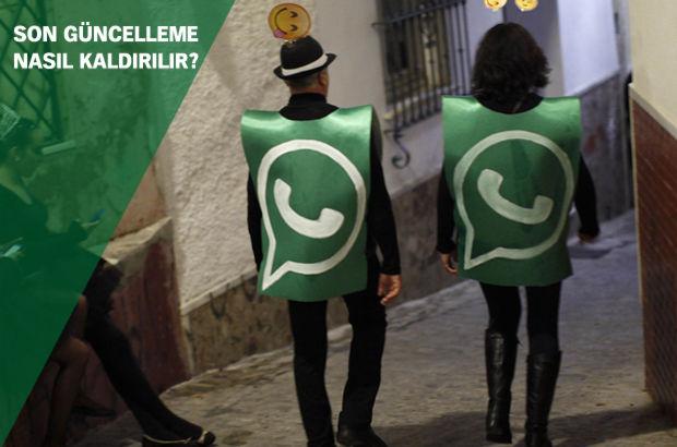 WhatsApp'tan çıldırtan güncelleme! Whatsapp'ta güncelleme nasıl kaldırılır