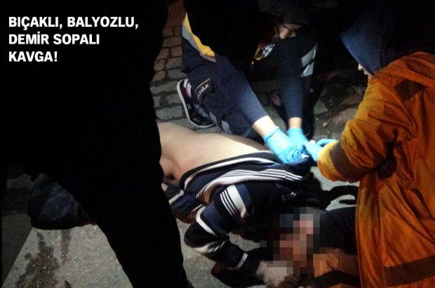 Konya'da iki grup arasına kavga: 1'i ağır 3 yaralı