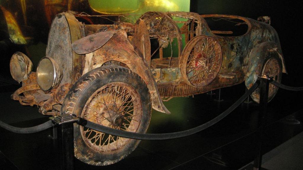 75 yıl sonra gölün dibinden çıkarılan Bugatti'nin garip hikayesi!