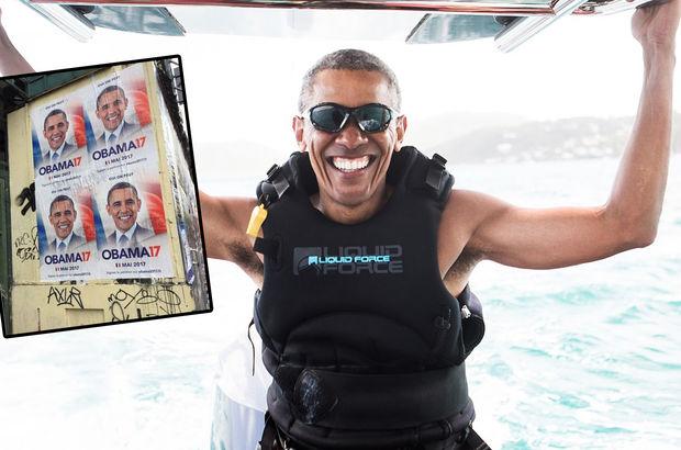 Obama'yı Fransa'da cumhurbaşkanlığı için aday gösterdiler!