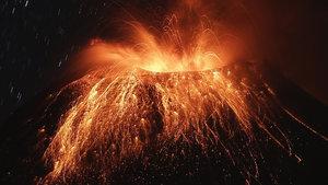 Nikaragua'da talihsiz bilimadamı araştırma yaparken volkanın içine düştü!