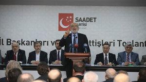Saadet Partisi Genel Başkanı Karamollaoğlu: Biz istiyoruz ki bu kamplaşma dursun