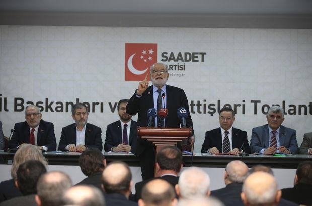 Saadet Partisi Genel Başkanı Temel Karamollaoğlu: Biz istiyoruz ki bu kamplaşma dursun