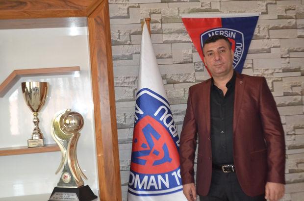 Mersin İdmanyurdu'nda yeni başkan Mahmut Karak!