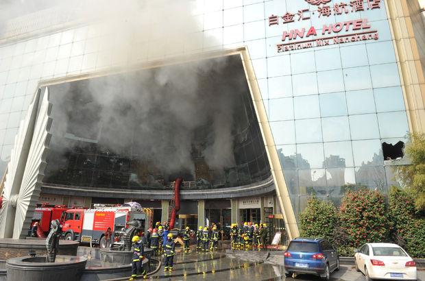 Çin'de otel faciası: 10 ölü