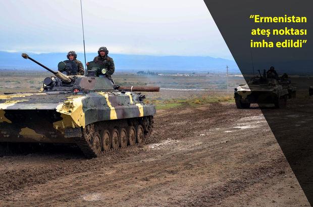 Ermenistan-Azerbaycan cephe hattında şiddetli çatışma!
