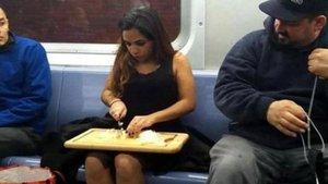 Dünyada metrolardaki tuhaf kareler
