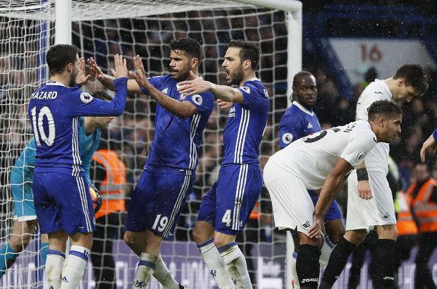 Chelsea: 3 - Swansea: 1