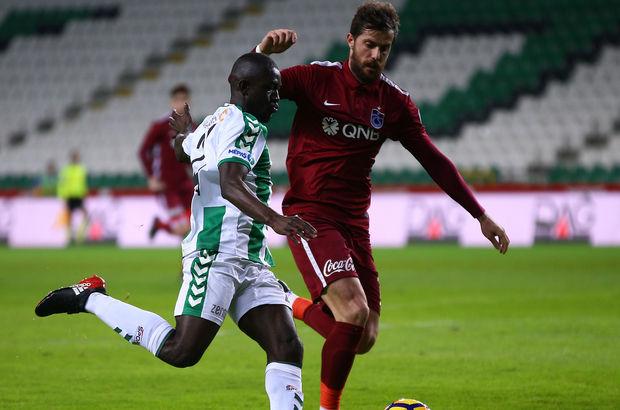 Atiker Konyaspor: 1 - Trabzonspor: 1 | MAÇ SONUCU
