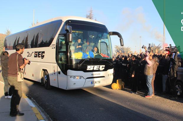 Gaziantep'te Fenerbahçe'ye şok tepki