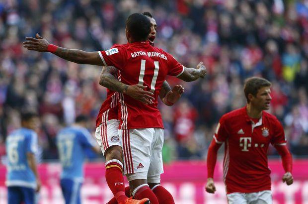 Bayern Münih Hamburg'u darmadağın etti! 8-0