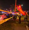 Louisiana eyaletinin New Orleans kentinde geleneksel Mardi Gras Sokak Festivali
