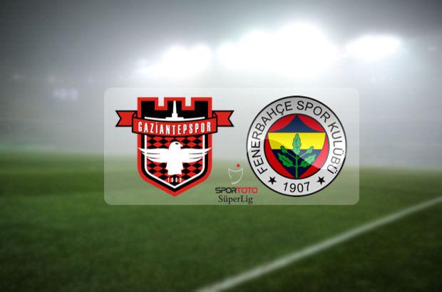 Gaziantepspor - Fenerbahçe maçı ne zaman, saat kaçta? Spor Toto Süper Lig 22. hafta